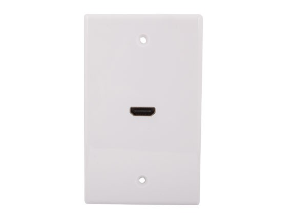 1-port HDMI Wall Plate