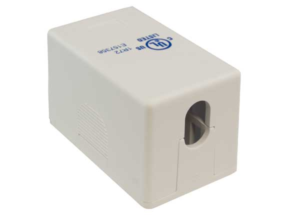 1-port RJ-45 Surface Mount Box