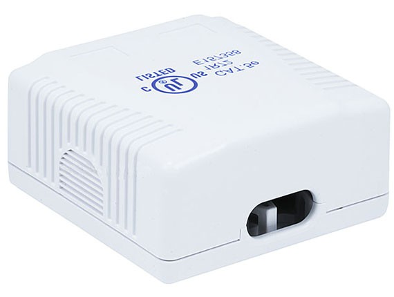 2-port Cat5e Surface Mount Box