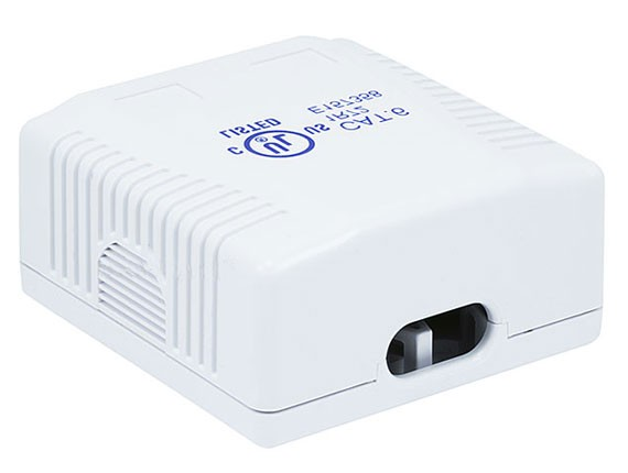 2-port Cat6 Surface Mount Box