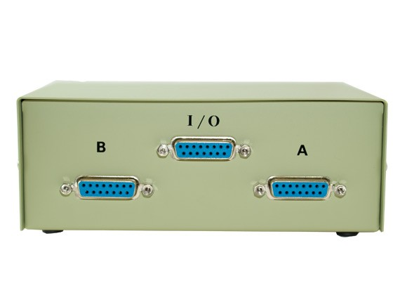 2-way DB15 Manual Data Switch Box