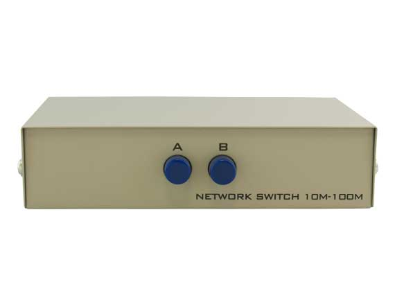 2-way RJ45 Manual Data Switch Box