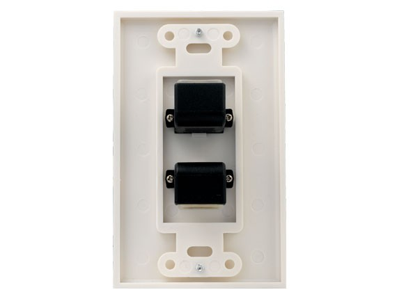 2-port HDMI Wall Plate
