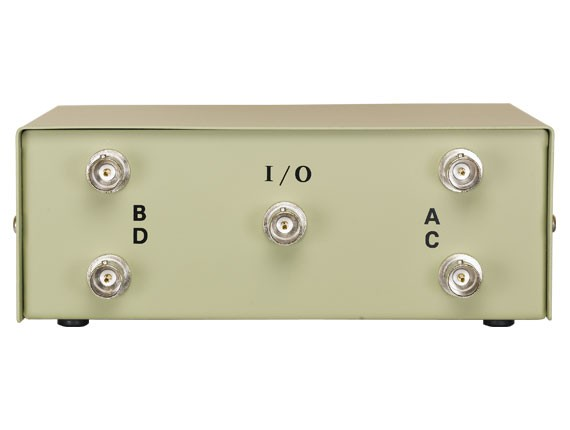 4-way BNC Manual Data Switch