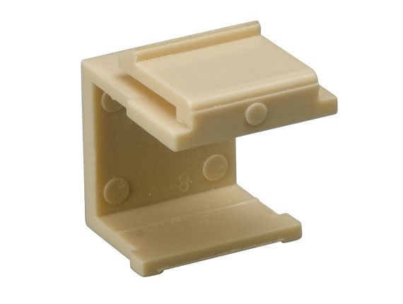 Blank Insert for Wall Plate, Ivory Color, 10pcs/Bag