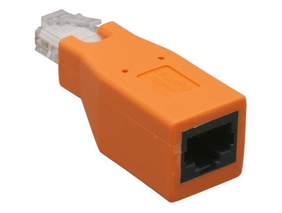 Cat5e / Cat6 Male to Female Crossover Ethernet Network Adapter