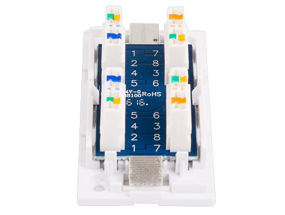 Cat5e Junction Box, 110 Punch Down Style