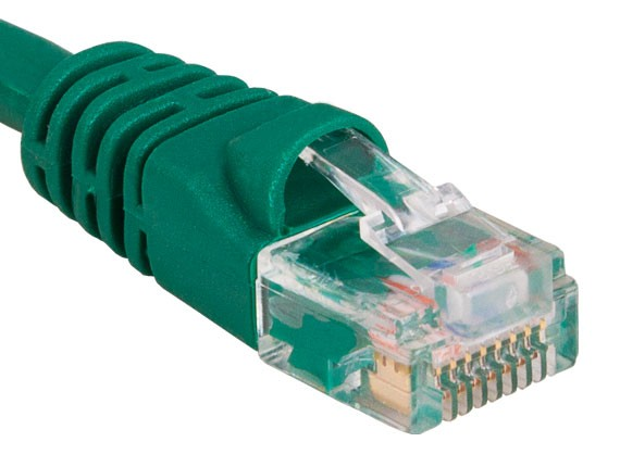 100ft Cat6 550 MHz UTP Snagless Ethernet Network Patch Cable, Green