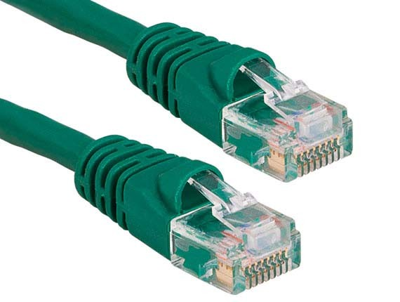 30ft Cat6 550 MHz UTP Snagless Ethernet Network Patch Cable, Green