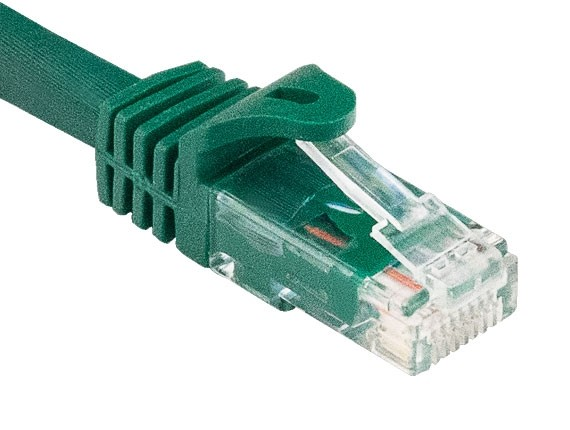10ft Cat6a 600 MHz UTP Snagless Ethernet Network Patch Cable, Green