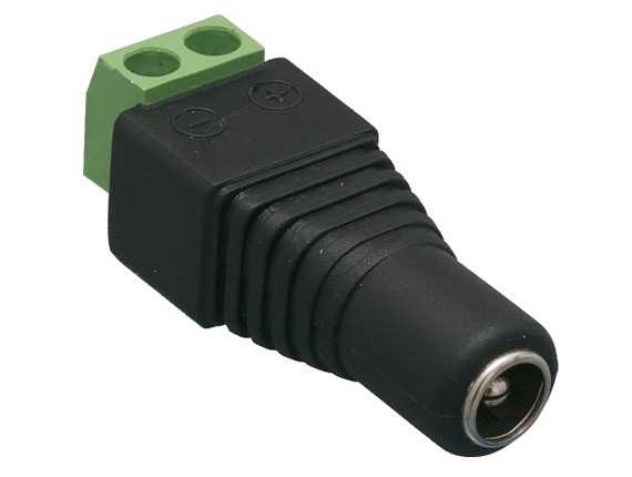 2.1mm x 5.5mm Female CCTV Power Jack Adapter