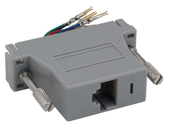 DB25 Male to RJ-45 Modular Adapter