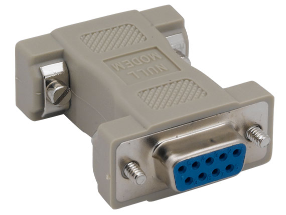 DB9 Female to DB9 Female Null Modem Adapter