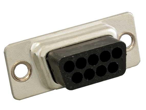 DB9 Male Crimping Housing Connector