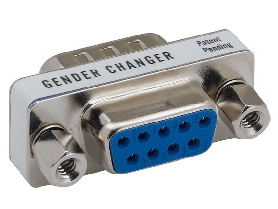 DB9 Male to Female Mini Port Saver