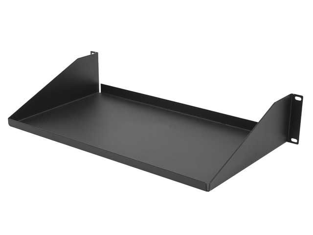 "Single Sided Rack Shelf 3.5""(H) x 10""(D) x 19""(W)"