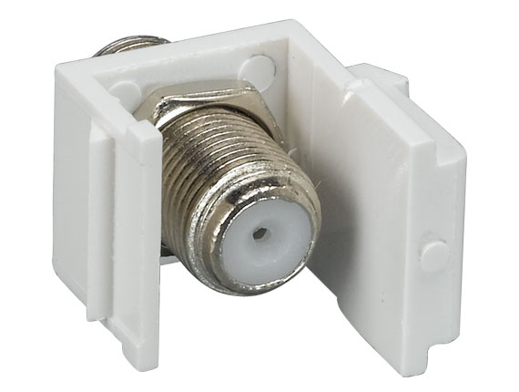 F-Type Feedthrough Keystone Insert Module