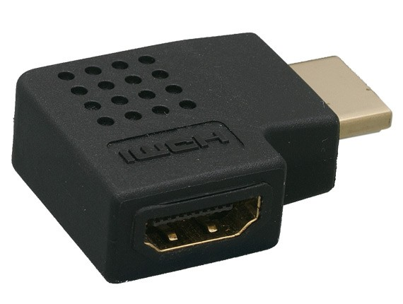 HDMI Male to Female Port Saver - 270 Degree – Vertical Flat