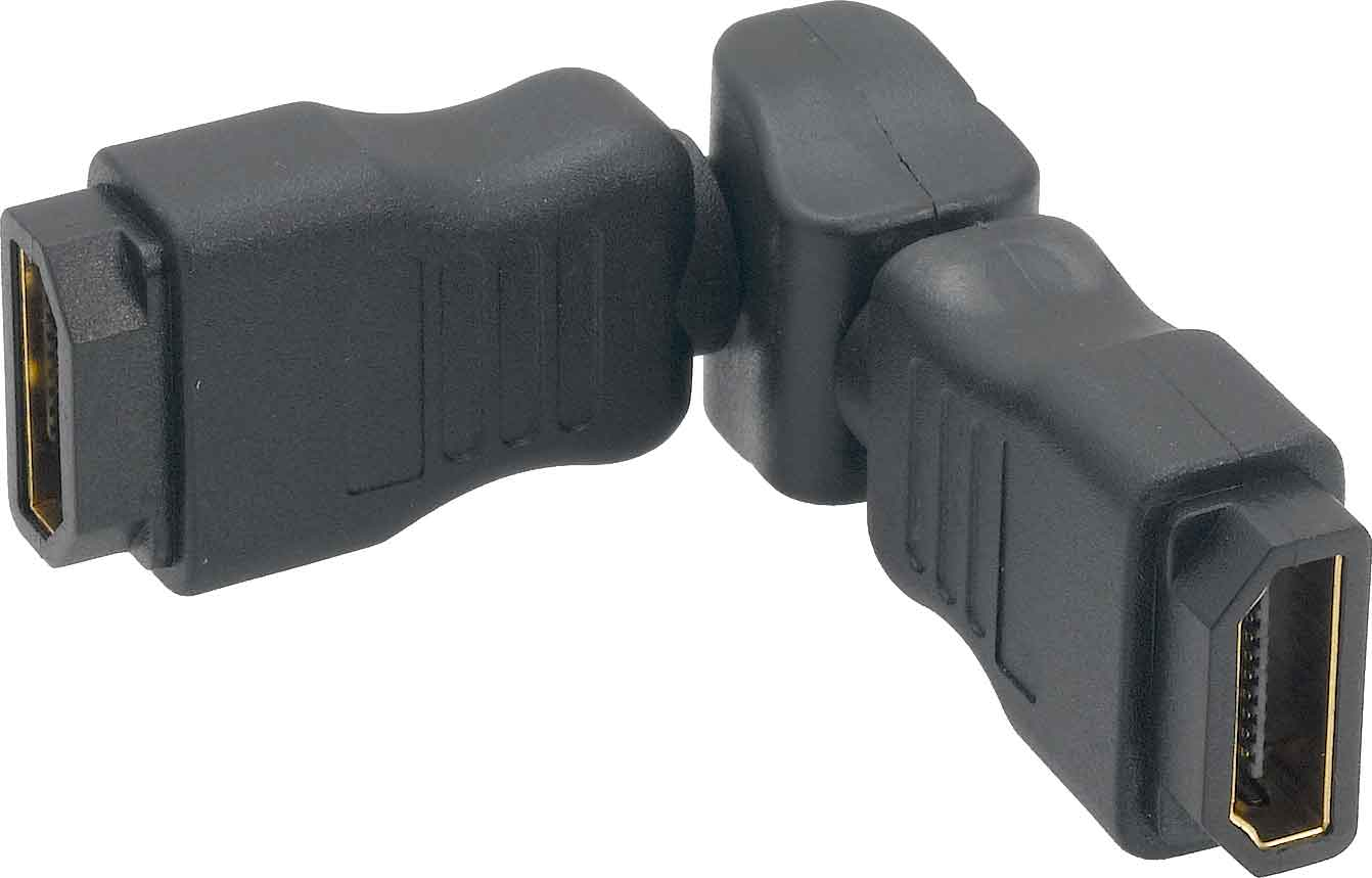 HDMI Female to Female Coupler - Swiveling Type