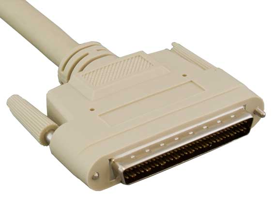 10ft SCSI-3 HPDB68 M/M Cable, Thumbscrew