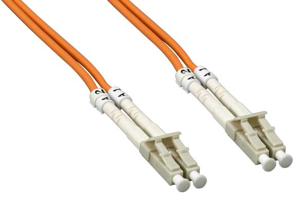 1m LC/LC Duplex 50/125 Multimode OM2 Fiber Optic Cable