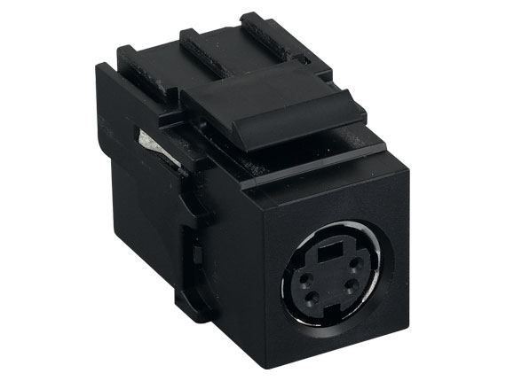 S-Video Inline Coupler Keystone Type