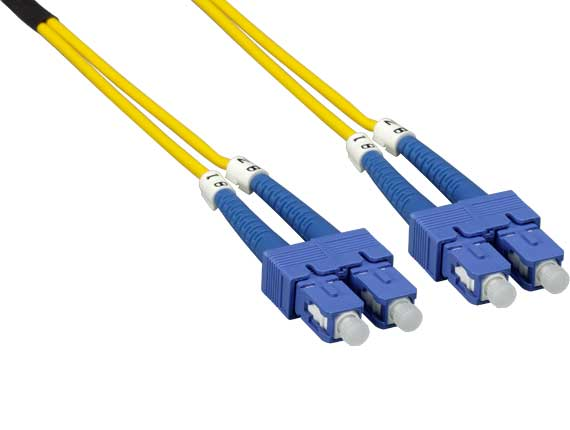 15m SC/SC Duplex 9/125 Single Mode Fiber Optic Cable