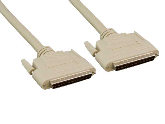 3ft SCSI-3 HPDB68 M/M Cable, Thumbscrew
