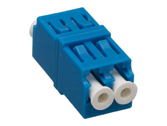 Singlemode LC-LC Duplex Fiber Optic Adapter