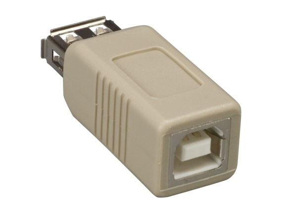 USB Type A Female to Type B Female Adapter