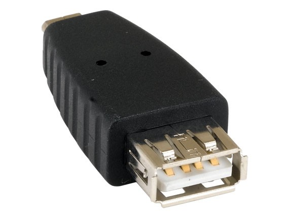 USB Type A Female to Micro B Male Adapter