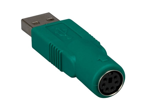 USB Type A Male to PS/2 6-pin Female Converter For Logitech